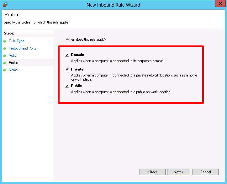 Windows Firewall: How to open Ports