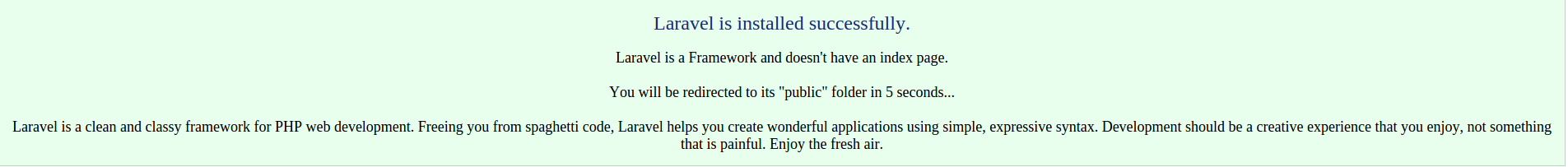 Setup Laravel Application from cPanel (Linux standard cloud